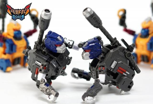 PC-19B Perfect Effect - Perfect Combiner - Black Beast Gorira 2-Pack