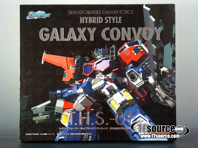 Takara Transformers Hybrid Style Convoy THS-02 Optimus Prime Limited Black Ver