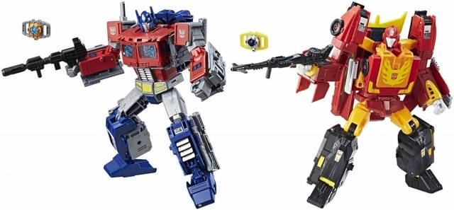 Transformers Power of the Primes - Leader Wave 1 - Set of 2