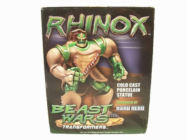 Hard Hero - Rhinox Statue - MIB