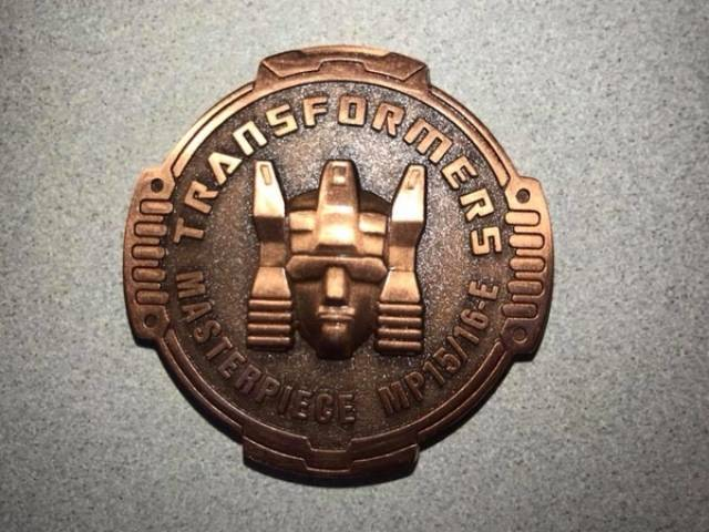 Transfomers Masterpiece - MP-15E/16E - Cassettebot vs. Cassettron Exclusive - Coin
