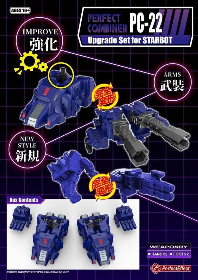PC-22 Perfect Effect - Perfect Combiner - POTP Starscream Set