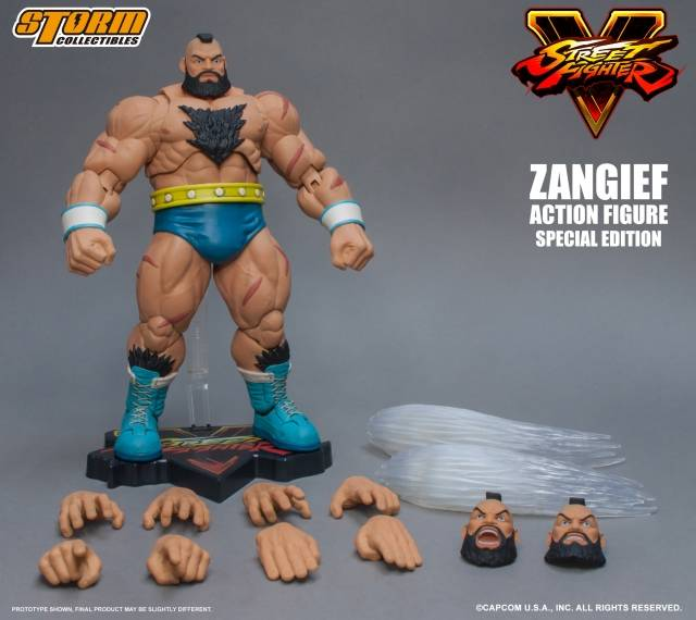 Storm Collectibles - Street Fighter V - 1/12 Zangief (Special Edition)
