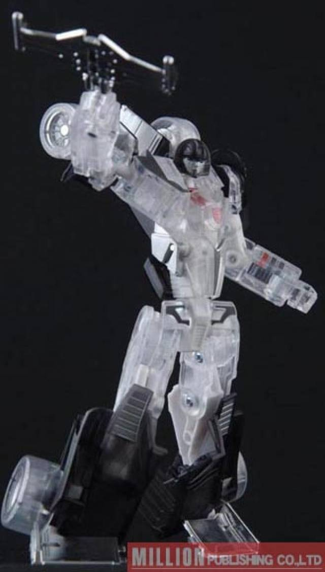 Transformers Generations - Clear Electro Disruptor Ligier Mirage - MOSC