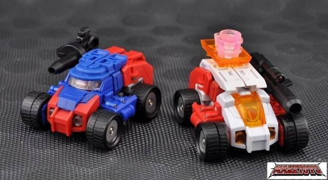 Make Toys - Manga Mech Series - Trash-Talk & Cogwheel - Loose 100% Complete