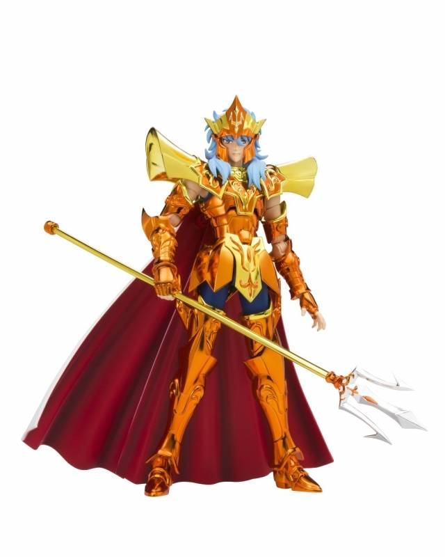 Saint Seiya - Myth Cloth Crown - Poseidon - Julian Solo