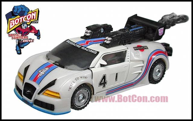 Botcon 2008 - Shattered Glass Jazz - Loose - 100% Complete