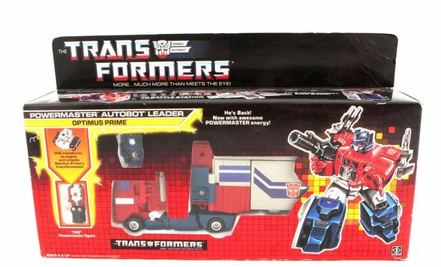 Transformers G1 - Powermaster Optimus Prime - MIB