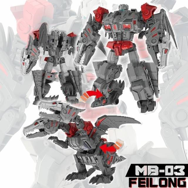 Fans Hobby - Master Builder - MB-03 Feilong - MIB