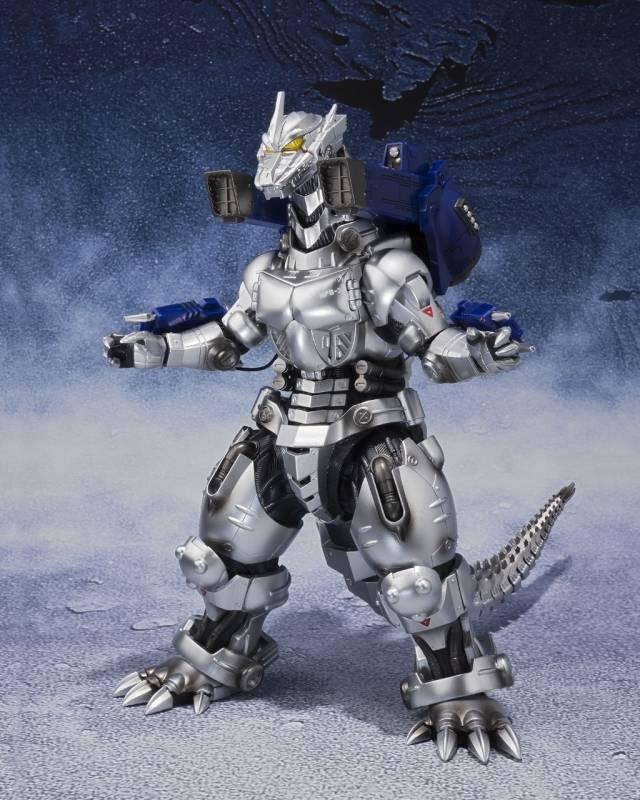 S.H.MonsterArts - MFS-3 Mechagodzilla Type-3 Kiryu - (Shinagawa Final Battle Ver.)