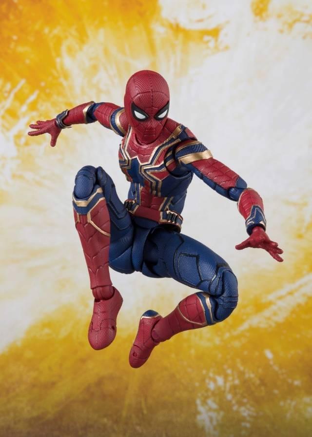 S.H.Figuarts - Avengers - Infinity War - Iron Spider & Tamashii Stage
