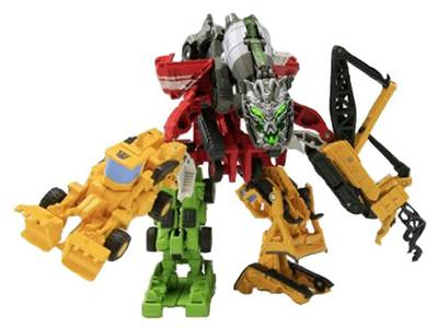 EZ Collection - Devastator - Movie Colors - Set of 7 Figures - MIB
