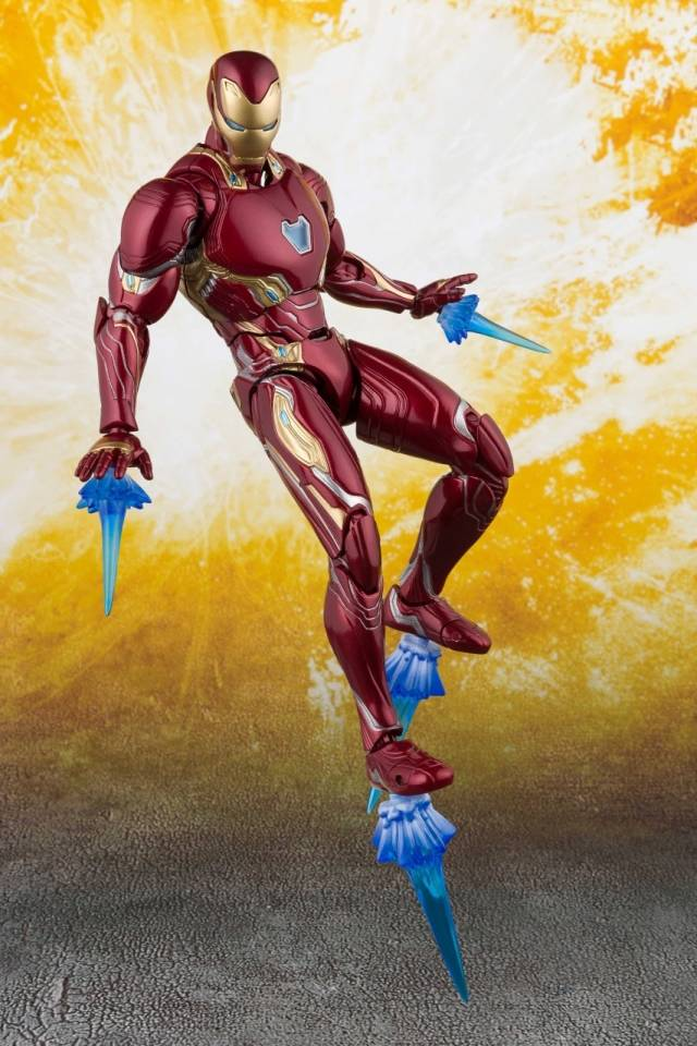 S.H.Figuarts - Avengers - Infinity War - Iron Man Mk50  & Tamashii Stage