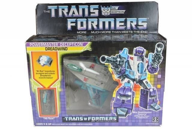 Transformers G1 - Dreadwind - MIB
