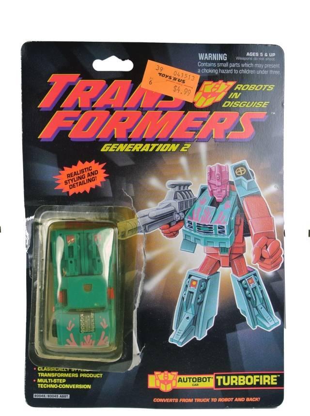 Transformers G2 - Turbofire - MOC