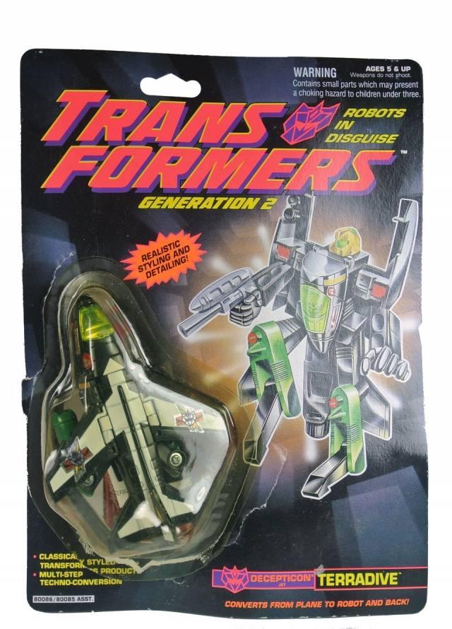 Transformers G2 Terradive - MOC
