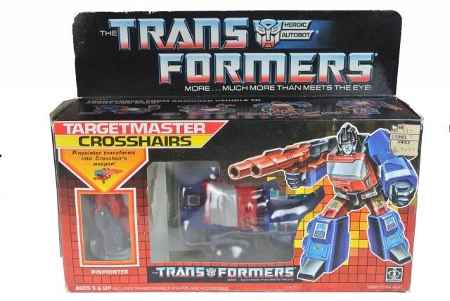 Transformers G1 - Crosshairs - MIB
