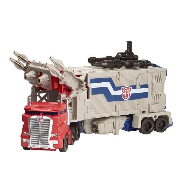 Titans Return 2016 - Leader Class - Powermaster Optimus Prime - Loose 100% Complete