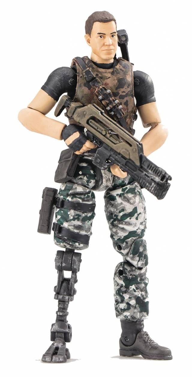 Aliens - Colonial Marines 1:18 Scale - Jeremy Cruz Action Figure