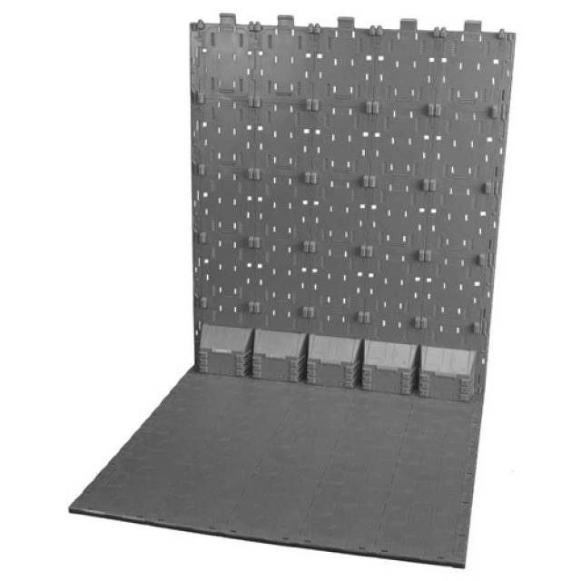 X2 Toys - BG-C Grey Base Background