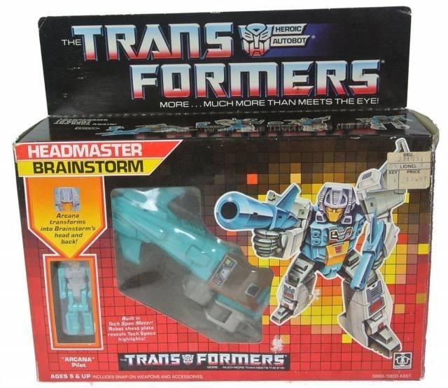 Transformers G1  - Headmaster Brainstorm - MIB