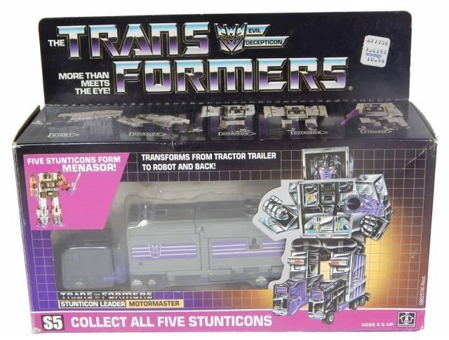 Transformers G1 - Stunticons - Motormaster - MIB