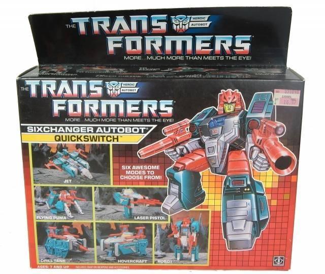 Transformers G1 - Quickswitch - MIB