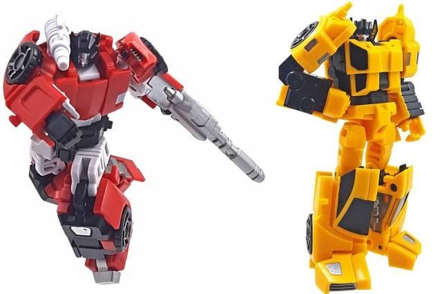 Iron Factory - IF-EX26 Racing Bros - Blaze Dash & Bolt Rush - MIB