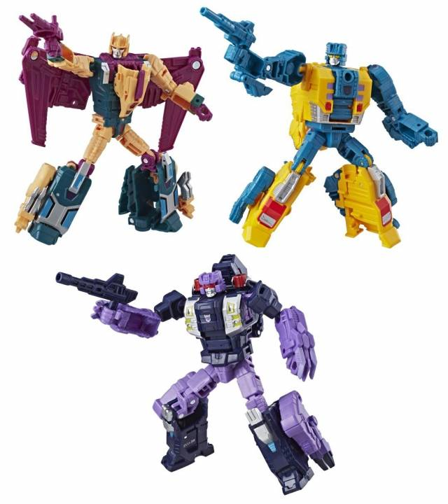 Transformers Power of the Primes - Deluxe Wave 3 - Set of 3