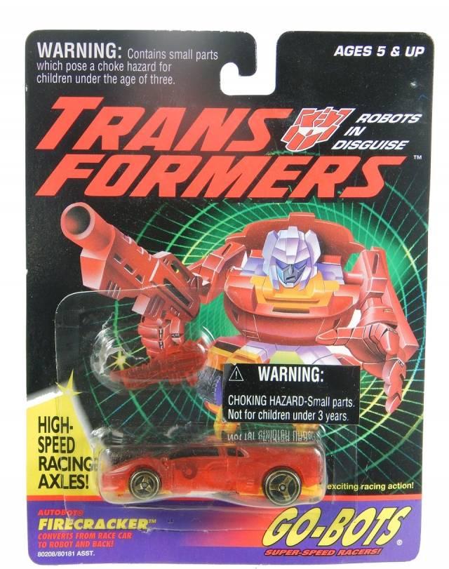 Transformers G2 - Go-Bot - Firecracker - MOC