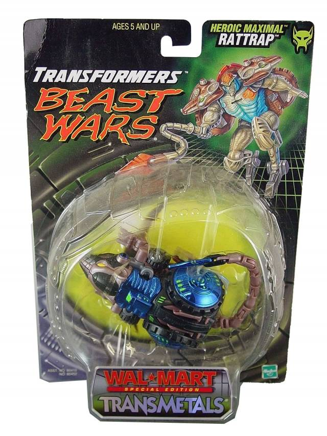 Beast Wars - Series  - Transmetals 2 - Wal-Mart Exclusive  - Rattrap - MOC