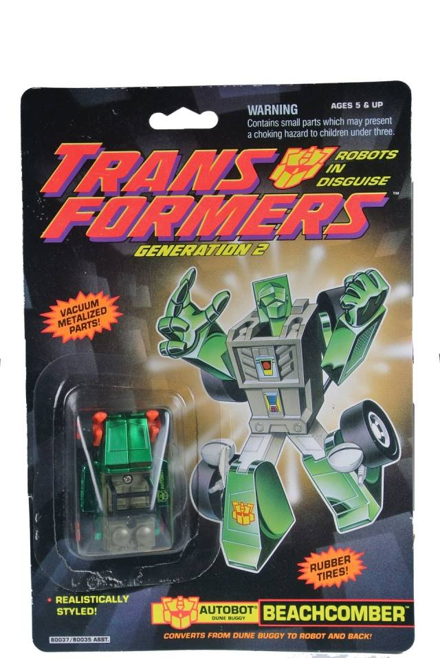 Transformers G2 - Beachcomber - MOC
