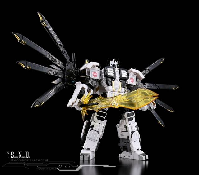 SND-04 X-Mortis Upgrade kit - CW Battle Core Optimus Prme