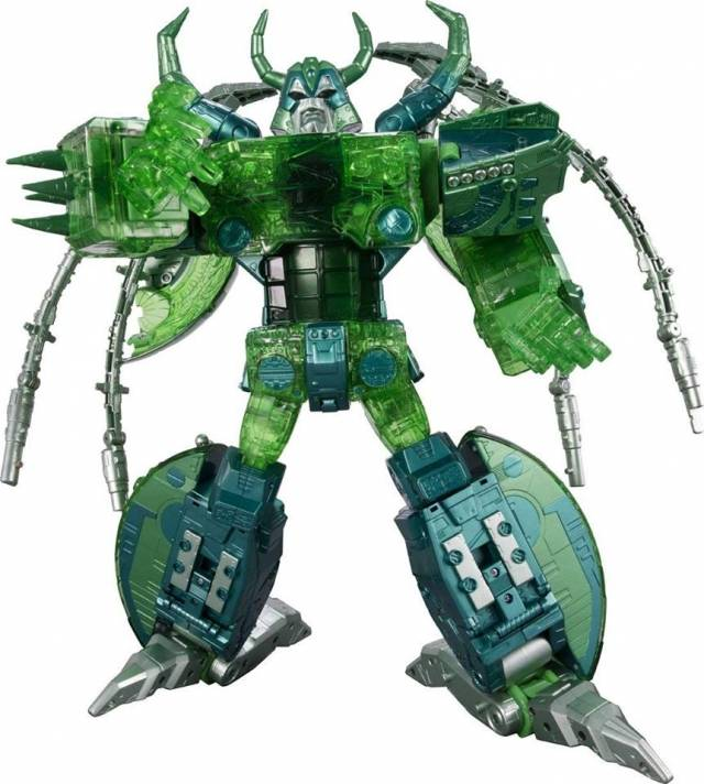 Transformers Encore - Unicron - Micron Combine Color Version