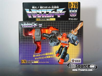 Japanese G1 - D-76 Tantrum - MIB