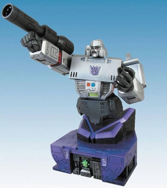 Transformers G1 Megatron Bust