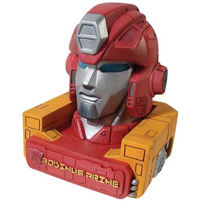 Transformers G1 Rodimus Prime - Mini-Head Bust