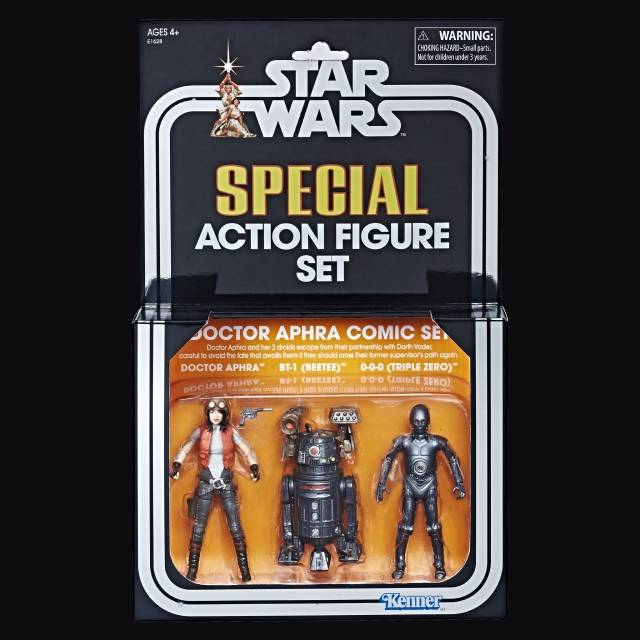 SDCC 2018 Star Wars The Vintage Collection Doctor Aphra Comic Set