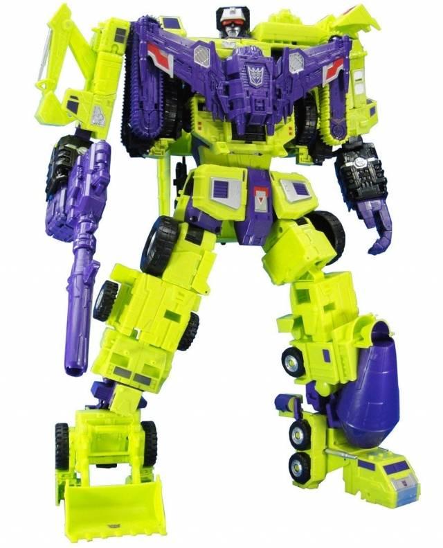 Transformers Unite Warriors - UW-04 - Devastator Set of 6
