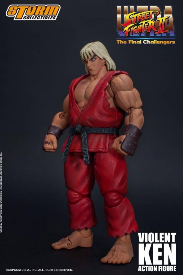 Storm Collectibles - Ultra Street Fighter II - The Final Challengers - Violent Ken