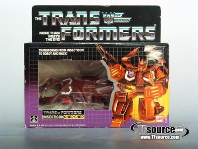 Transformers G1 Boxed - Chop Shop - MIB