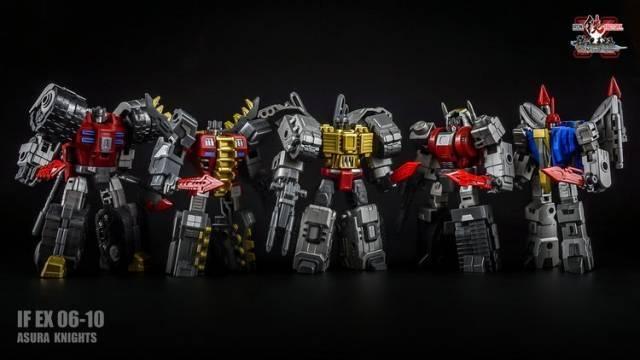 Iron Factory - IF-EX06-10 set of 5 Ashura Knights - MIB