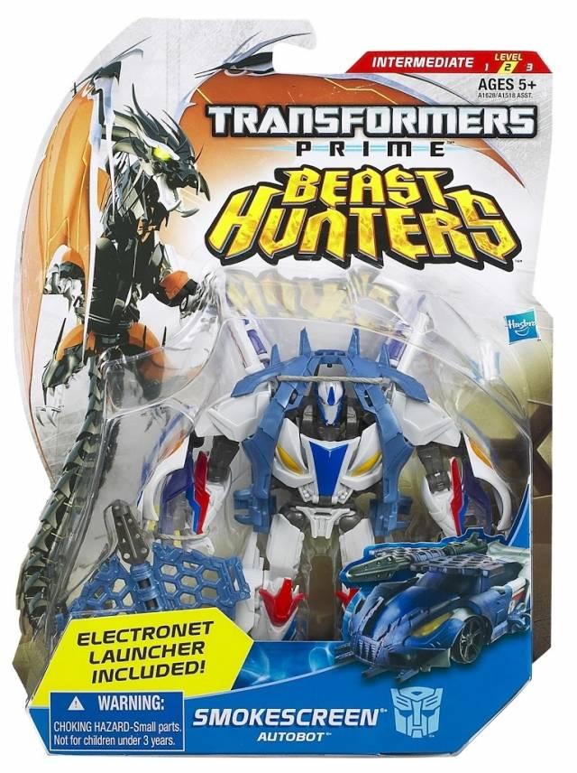 Beast Hunters - Transformers Prime - Smokescreen - MOC