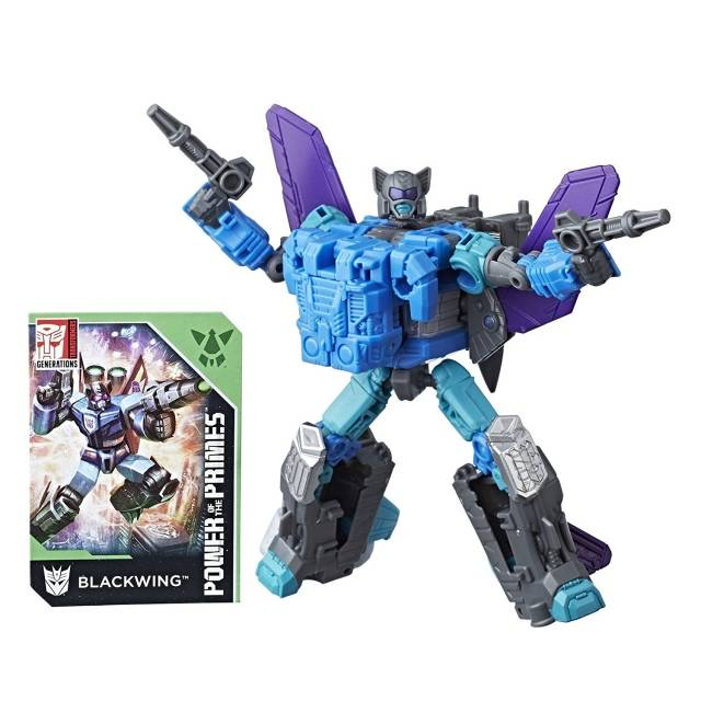 Transformers Power of the Primes - Deluxe Blackwing - MOSC