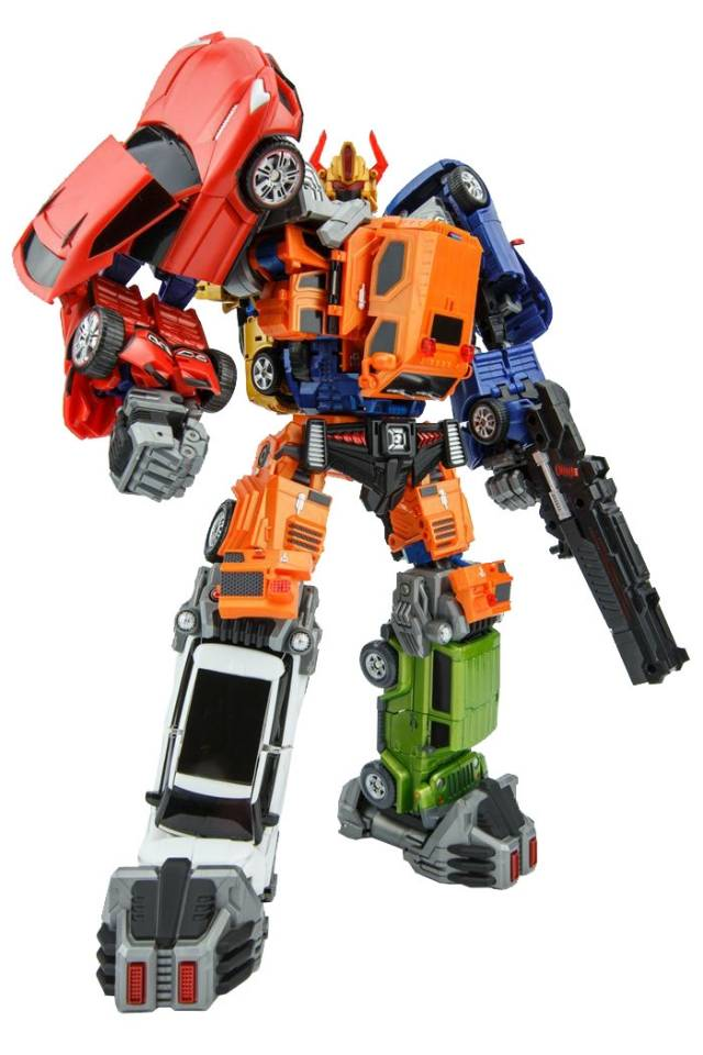 ToyWorld - TW-T Car Combiner - Loose Complete