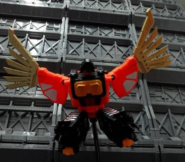Unique Toys - War Lord - UT-W01 War Hawk - Loose Complete