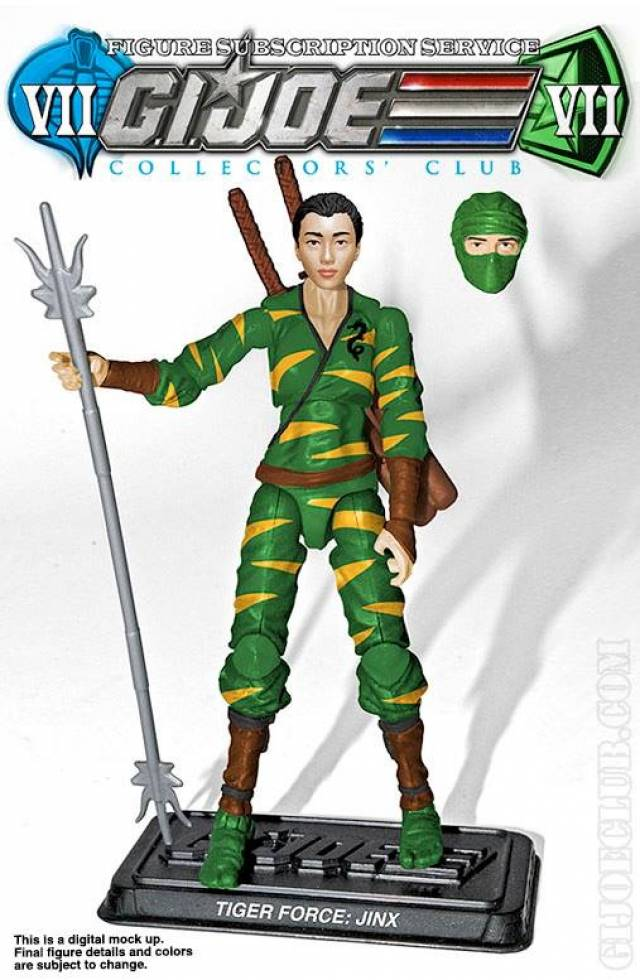 G.I. JOE - Subscription Figure 7.0 - Jinx