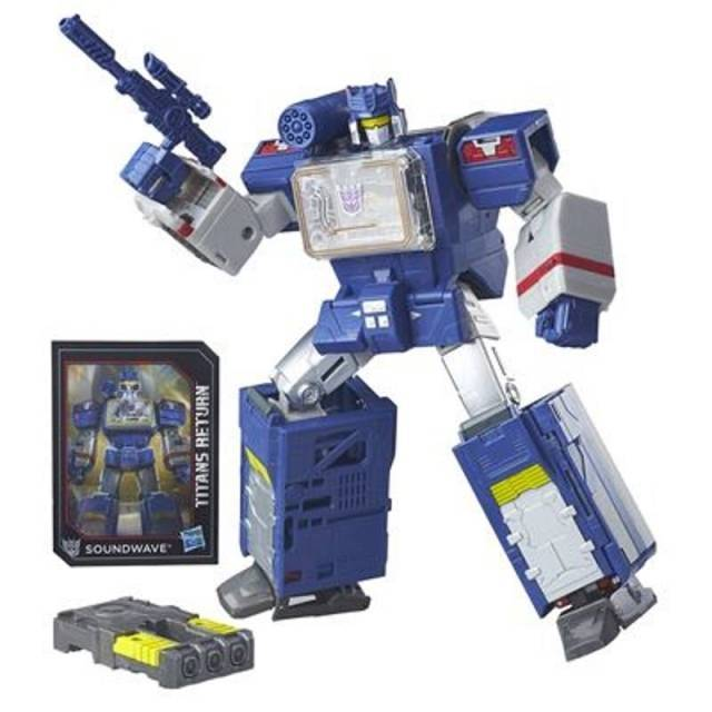Titans Return 2016 - Leader Soundwave - MISB