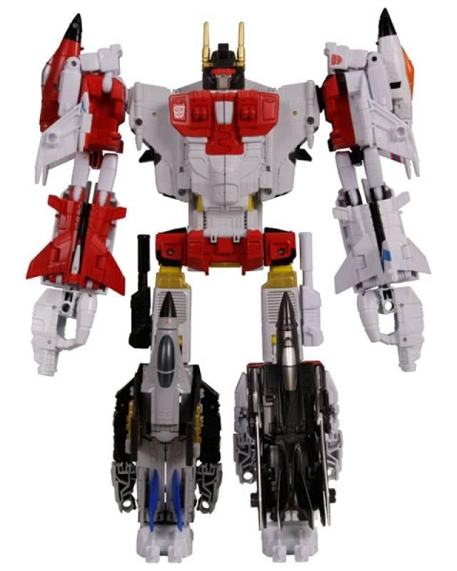 Combiner Wars 2015 - Superion w/Quickslinger - Loose Complete