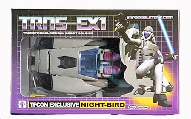 TFcon 2010 Exclusive - Night-Bird Figure - MIB